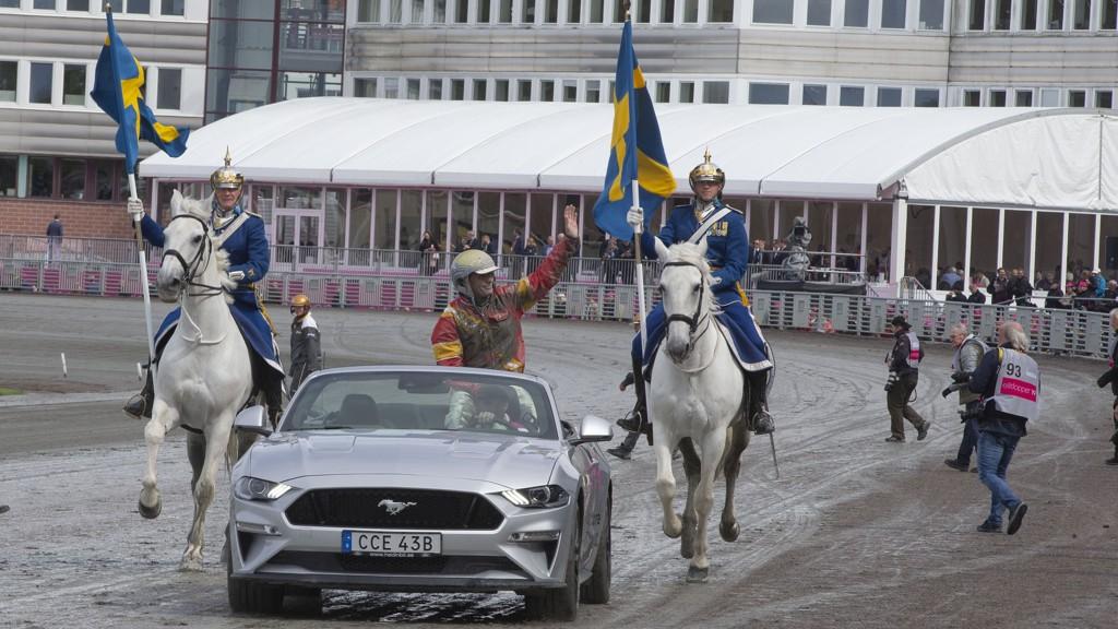 Bjørn Goop har flere fine sjanser da uken starter opp i Karlstad på Färjestad. Foto: Anders Kongsrud/www.hesteguiden.com.