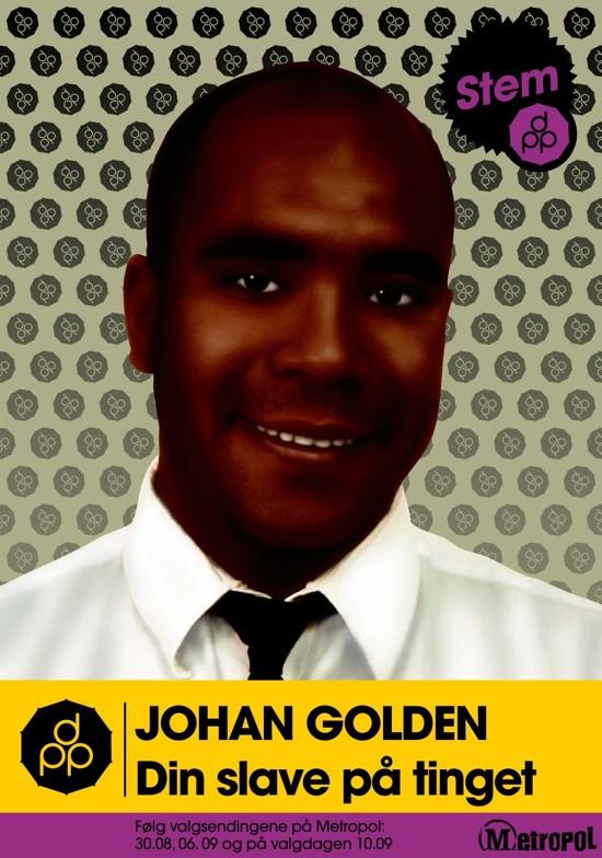 johan golden det politiske parti