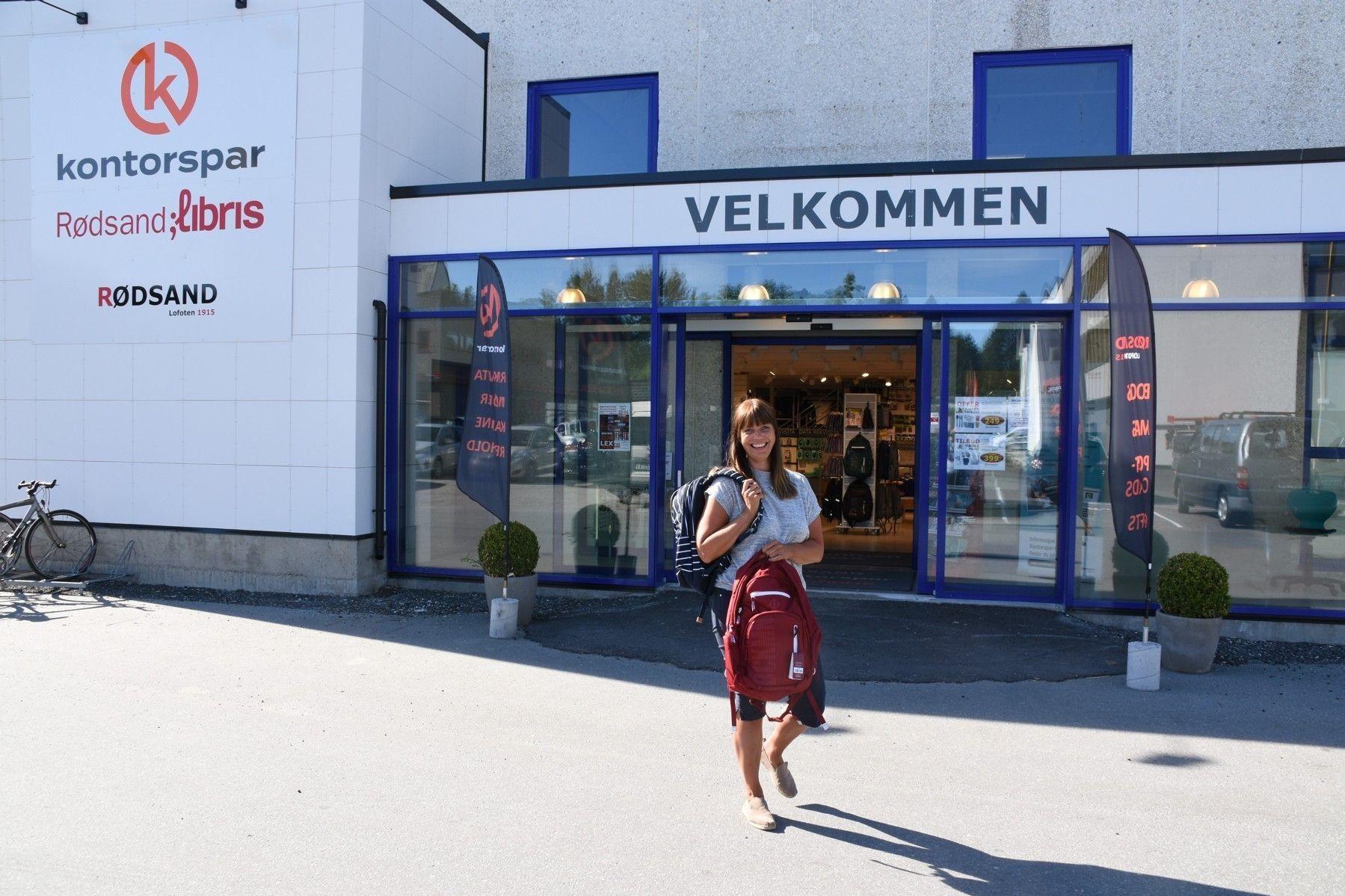Norun Solheim har det ungene trenger til skolestart.