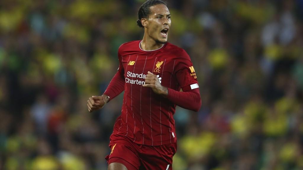 Virgil van Dijk hadde en fantastisk debutsesong for Liverpool, og innledet denne sesongen med å score ett av målene for Liverpool i seriepremieren hjemme mot Norwich fredag. En kamp Liverpool vant 4-1.