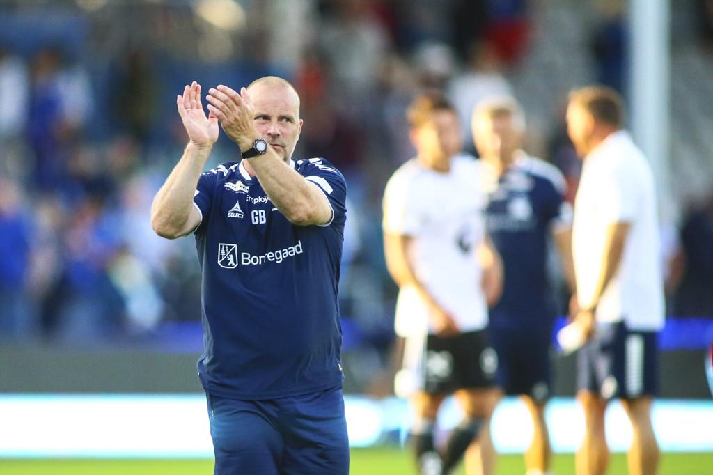 Sarpsborg 08 og trener Geir Bakke spilte 1-1 mot Rosenborg for ti dager siden. Dermed har de ikke vunnet på de seks siste kampene.