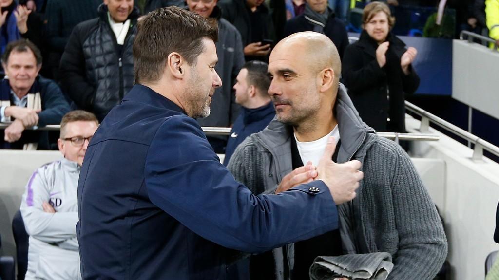 Manchester City - Tottenham. Gurdiola - Pochettino. For en duell vi skal få på lørdagskvelden.