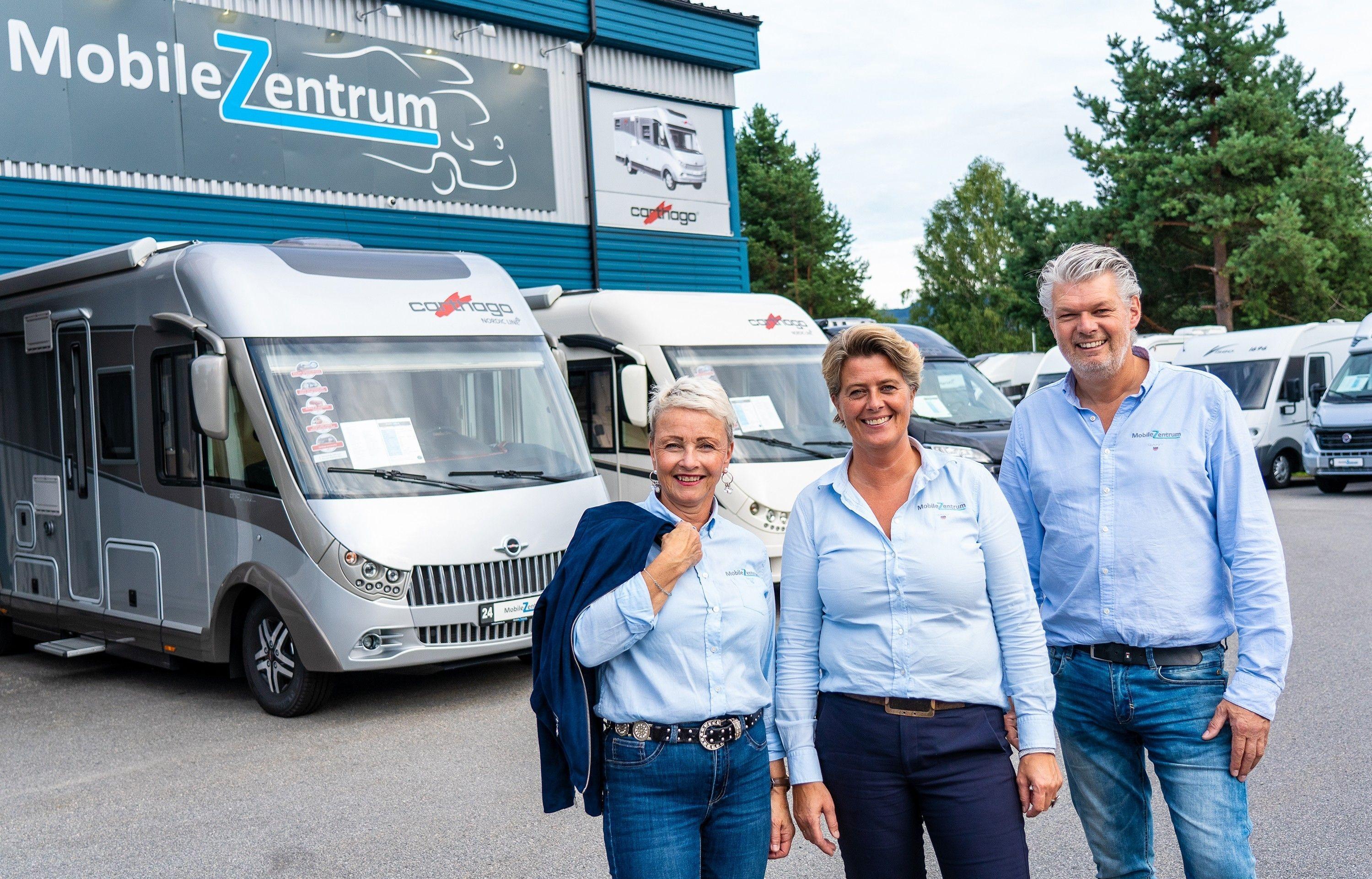 MobileZentrum satser stort på tyske kvalitetsbobiler i Hokksund.