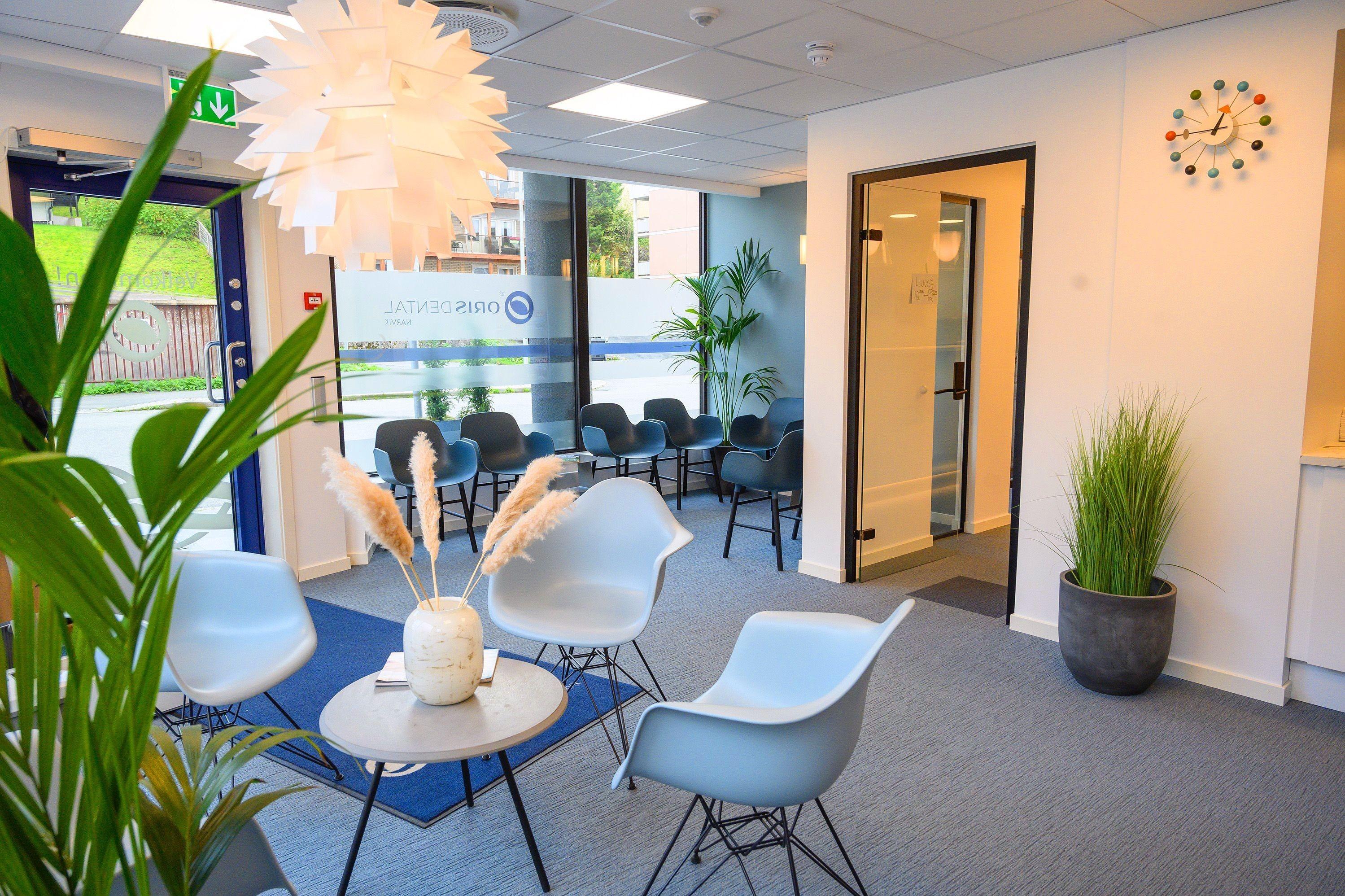 Oris Dental ønsker deg velkommen til innbydende, nye lokaler i Dronningensgate.
