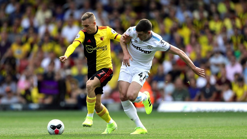 Gerard Deulofeu scoret målet for Watford da de tapte 1-3 borte mot Manchester City i Premier League forrige sesong.