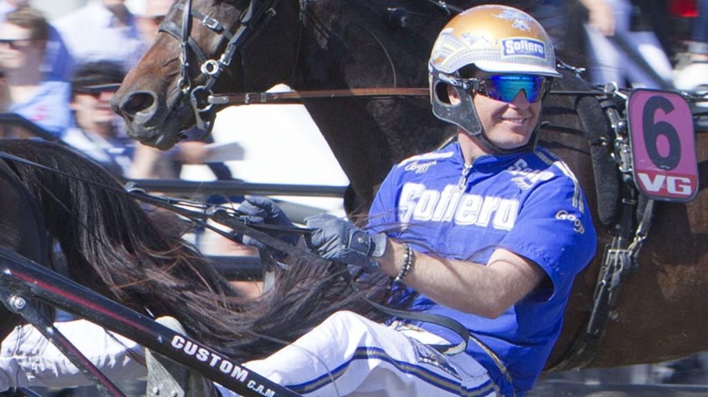 Björn Goop er aktuell i kveldens V64-omgang. Foto Morten Skifjeld/Hesteguiden.com