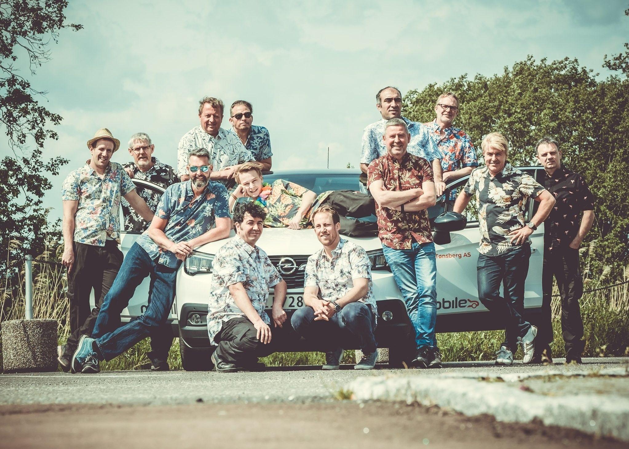 SAMMENSVEISET GJENG: Mobile Tønsberg er opptatt av å investere i de ansatte, og å ha det gøy sammen.