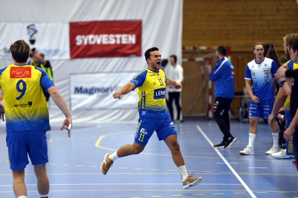 Sindre Aho jubler etter å ha scoret i serieåpningen mot Drammen, men Fyllingen har ikke hatt så mye å juble for denne sesongen.