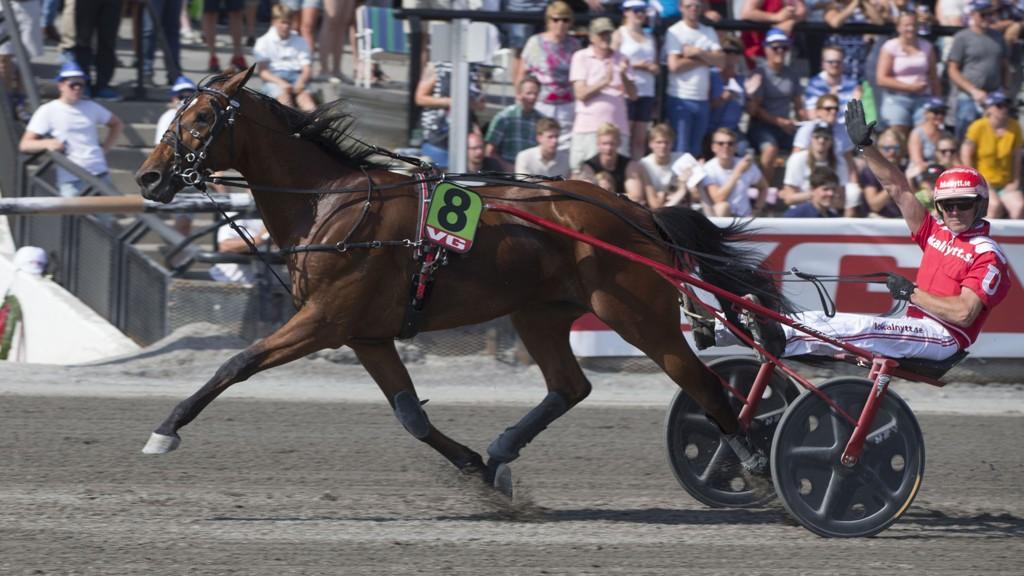 Peter Untersteiner er aktuell i kveldens V65-omgang. Foto: Anders Kongsrud/www.hesteguiden.com.