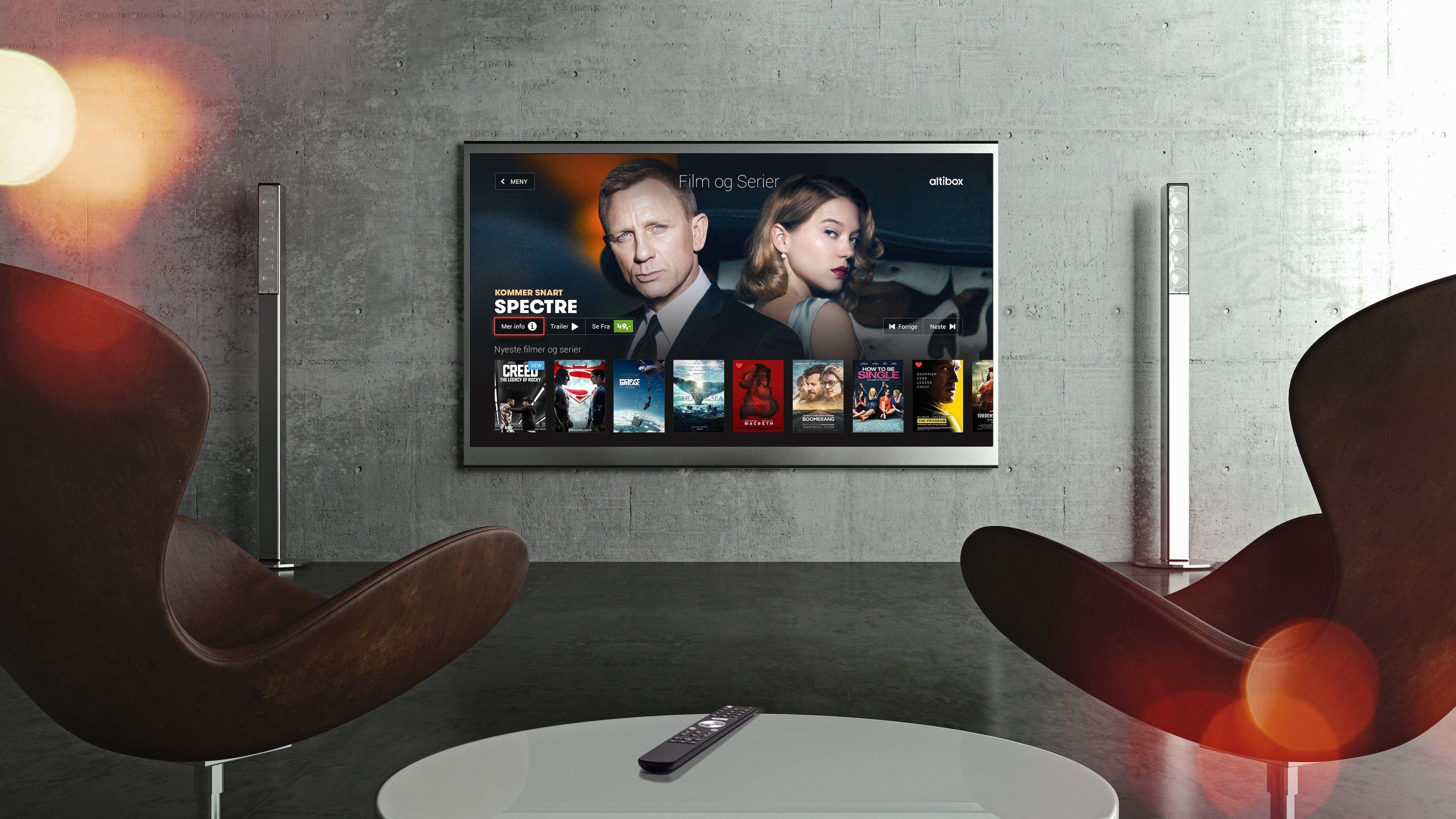 ALTIBOX: Brukerne av Altibox er de mest fornøyde TV-kundene i Norge. Altibox-løsningen gjør blant annet at du kan håndplukke dine favoritter og få inn over 80 kanaler samt strømmetjenester.