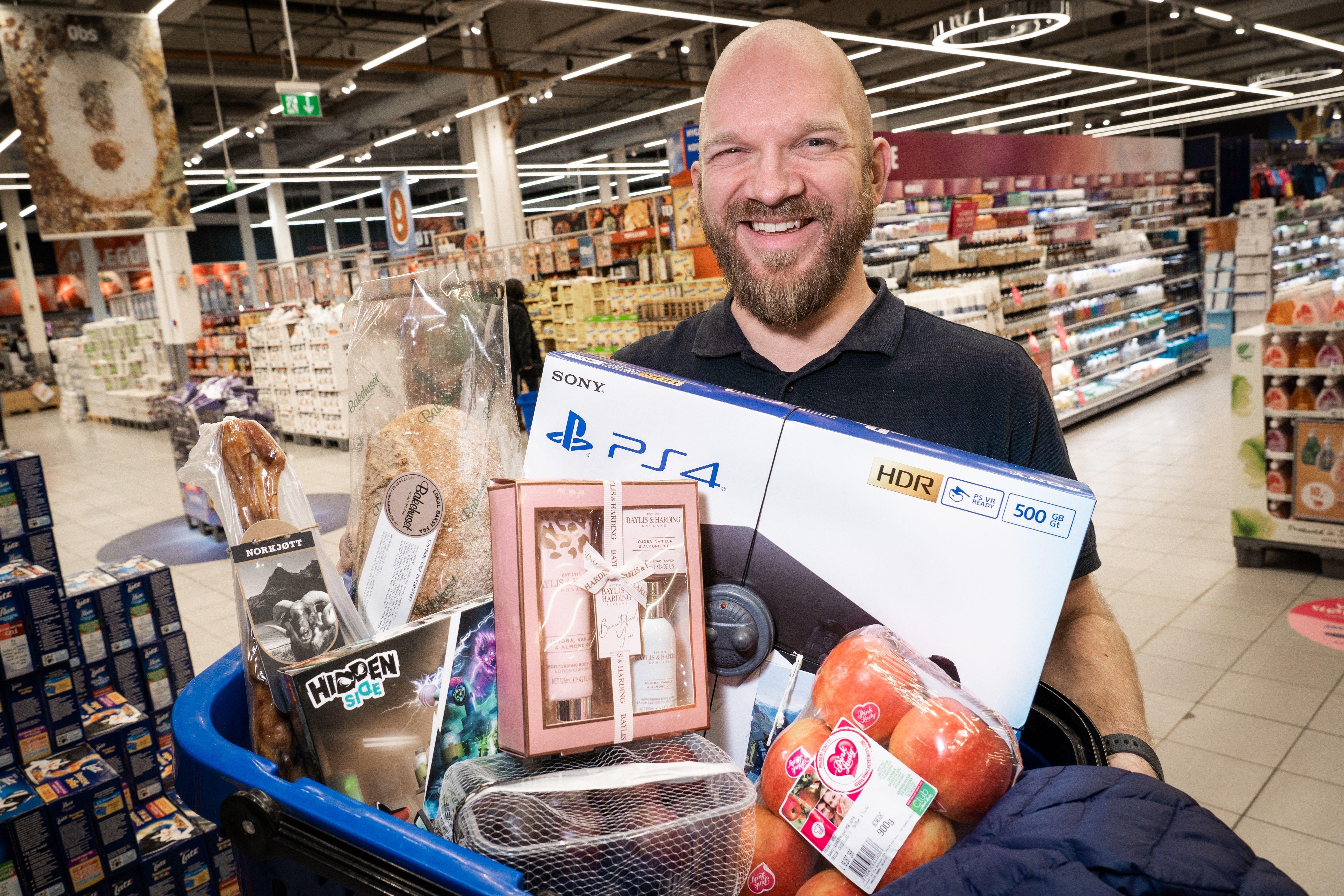 Obs Tromsø, med varehussjef Øyvind Nøstmyr i spissen, gjør seg klar til en av årets mest travle handleuker.