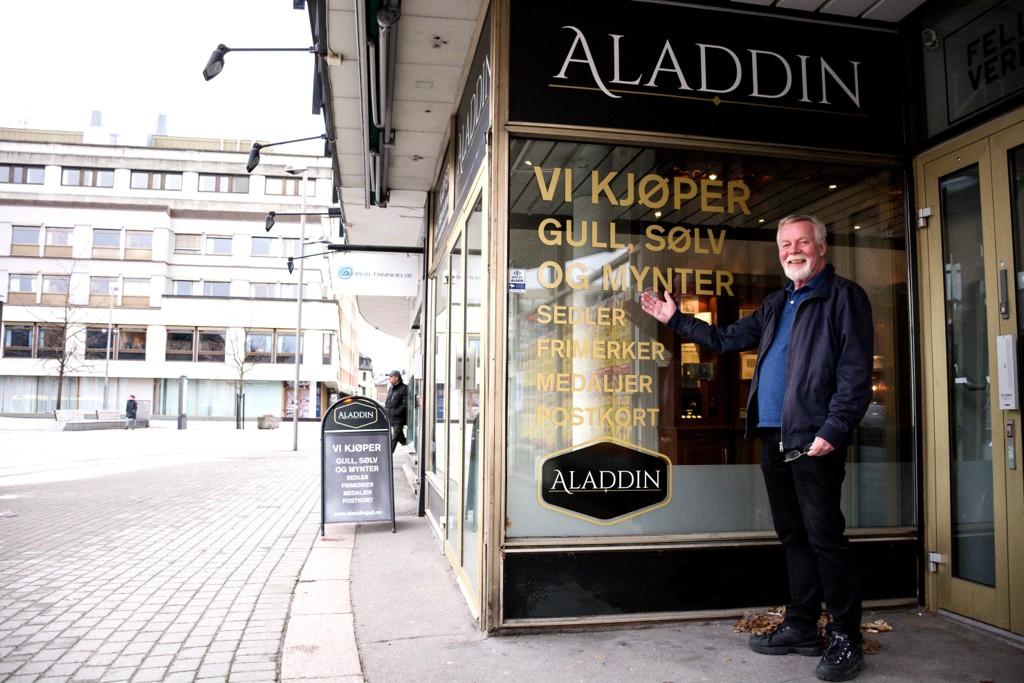 Folk strømmer til Aladdin i Drammen for å tjene penger på
