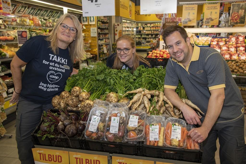 Få smaken av Noreg i din nabolagsbutikk