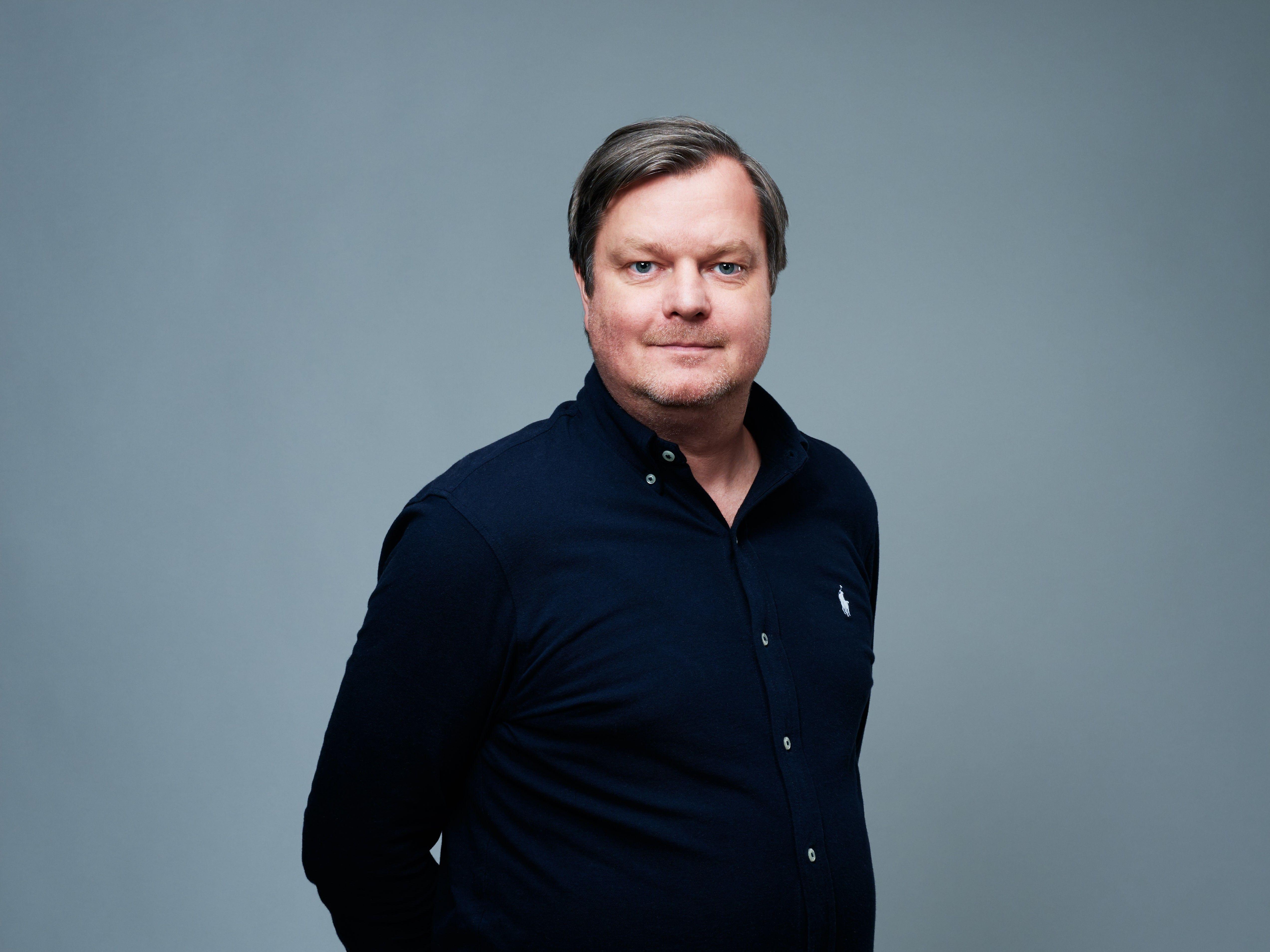 ELSIKKERT: Komiker og tekstforfatter Espen Lervaag var lite opptatt av elsikkerhet. Så var han med i en reklame om tema.